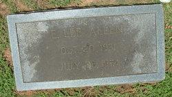E. Lee Allen