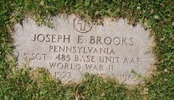 Joseph E Brooks