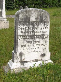 Temperance Ann <i>Ingersoll</i> Coffin