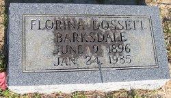 Florina <i>Dossett</i> Barksdale
