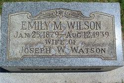 Emily May <i>Wilson</i> Watson
