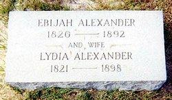 Abijah Elijah Ebijah Alexander