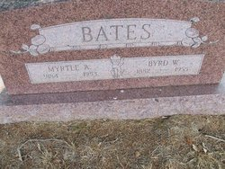 Myrtle A. <i>Nixon</i> Bates