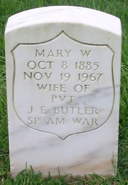 Mary L. <i>Williams</i> Butler