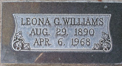 Annie Leona <i>Godfrey</i> Williams