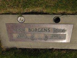 Mary D. <i>Lesser</i> Borgens