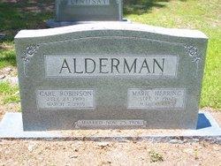 Carl Robinson Alderman
