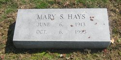 Mary Powers Polly <i>Spooner</i> Hays