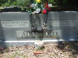 Alberta C. Berta <i>Parker</i> Aderhold