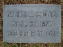 Walter G. Koontz