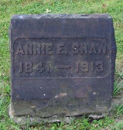 Annie F Shaw