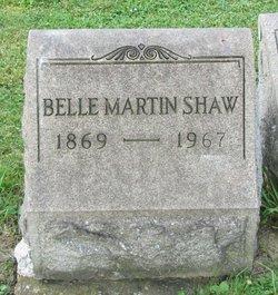 Belle <i>Martin</i> Shaw
