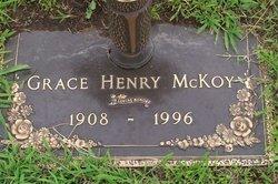 Grace A. <i>Henry</i> McKoy