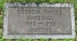 Georgia <i>Taylor</i> Marshall
