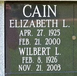 Elizabeth L. <i>Wirtz</i> Cain
