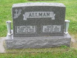 Blanche W <i>Curtiss</i> Allman