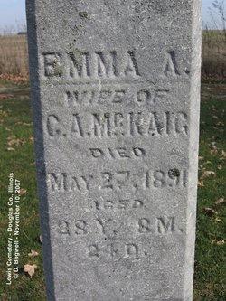 Emma A <i>York</i> McKaig