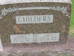 Adney <i>Noble</i> Childers