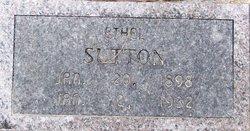 Ethel Pearl <i>Hoover</i> Sutton