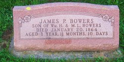 James P Bowers