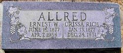 Orissa Elizabeth <i>Rich</i> Allred