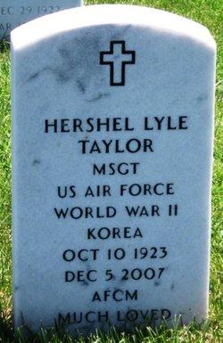 Hershel Lyle Taylor