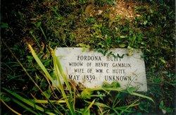 Fredona Bradford <i>Green</i> Huitt