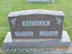 Harold Arthur Baehler
