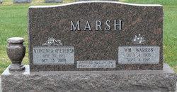 Virginia M. <i>Peters</i> Marsh