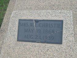 Martha Elizabeth <i>Curry</i> Christie