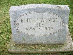 Edith Rebecca <i>Harned</i> File
