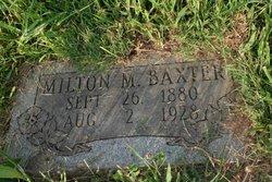 Milton Matthew Baxter