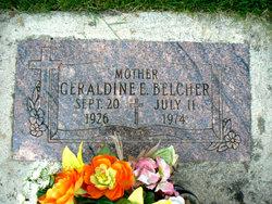 Geraldine E <i>Coons</i> Belcher
