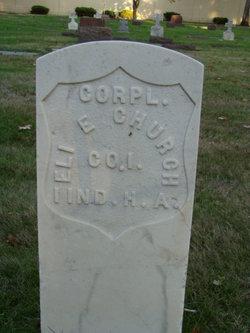 Corp Eli E. Church