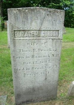 Elizabeth <i>Gordon</i> Brooks