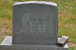 Mary Elizabeth <i>Burrows</i> Goff