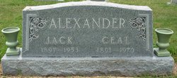 Lucille Elizabeth Ceal <i>Garner</i> Alexander