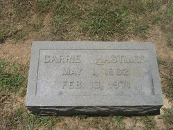 Carrie <i>Huffstetler</i> Hastings