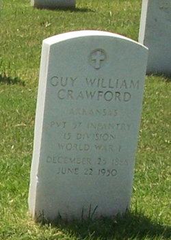 Guy William Crawford