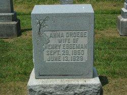 Anna <i>Droege</i> Eggeman