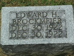 Edward H Brockmeier