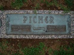 Julia <i>Rogers</i> Picher