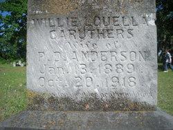 Willie Louella <i>Caruthers</i> Anderson