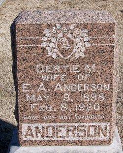 Gertrude Maud Gertie <i>Jennings</i> Anderson