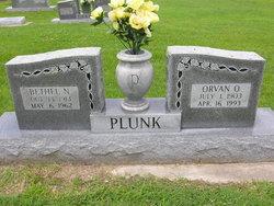 Bethel Naomi <i>Medlin</i> Plunk