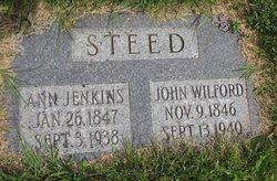 Ann <i>Jenkins</i> Steed