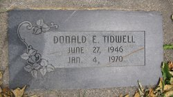 Donald E. Tidwell