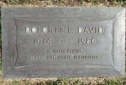 Dolores Elizabeth <i>Meeker</i> David