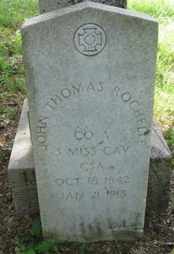 Pvt John Thomas Rochelle