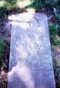 Rev Mark William Hopkins